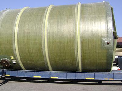 Grp Hcl Storage Tank 1 Fibreglass World