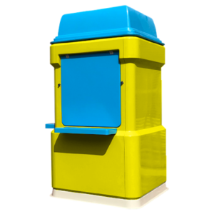 fibreglass kiosk