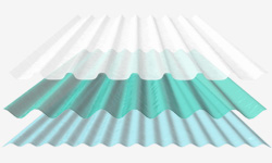 fibreglass roof sheeting pic
